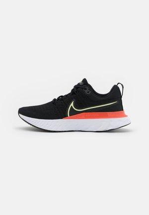REACT INFINITY RUN FK 2 - Neutral running shoes - black/lime ice/magic ember/white