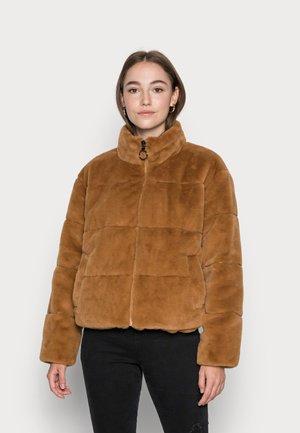 VMLYON SHORT JACKET - Winter jacket - tobacco brown