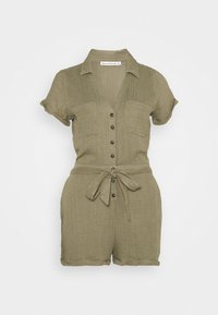 Abercrombie & Fitch - UTILITY ROMPER - Jumpsuit - olive - 3