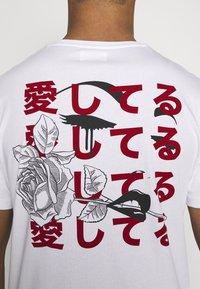 YOURTURN - UNISEX - T-shirt imprimé - white - 4