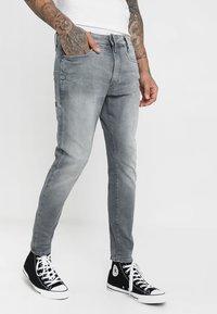 G-Star - Skinny džíny - wess grey superstretch - 0
