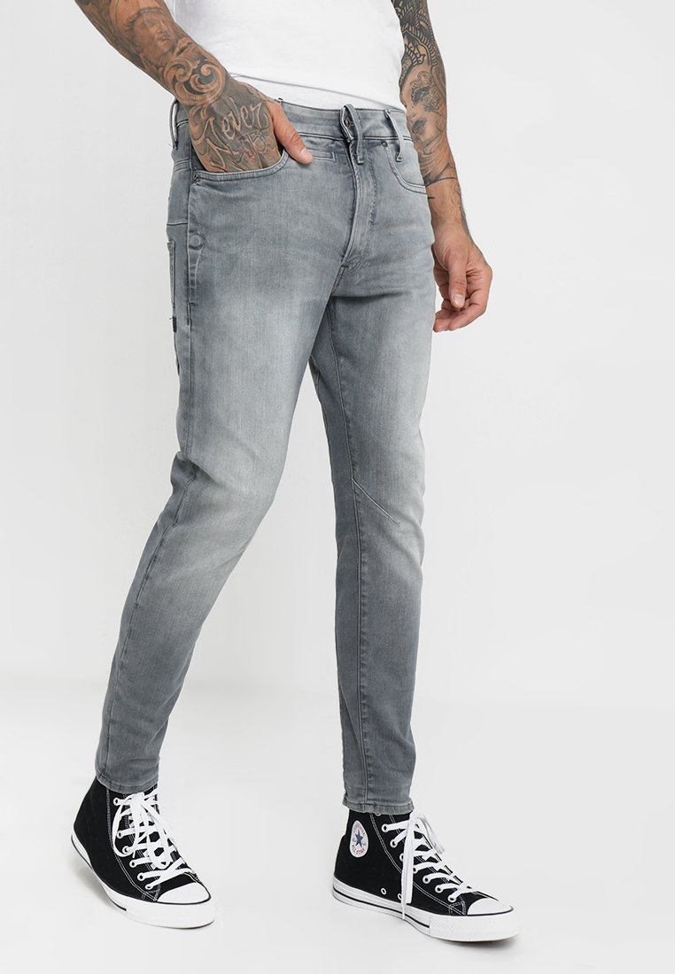 G-Star - Skinny džíny - wess grey superstretch