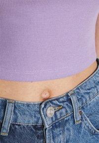 Even&Odd - Basic T-shirt -  mottled lilac - 5