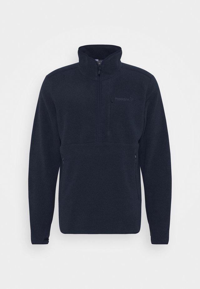 WARM HALFZIP  - Fleece jumper - grey