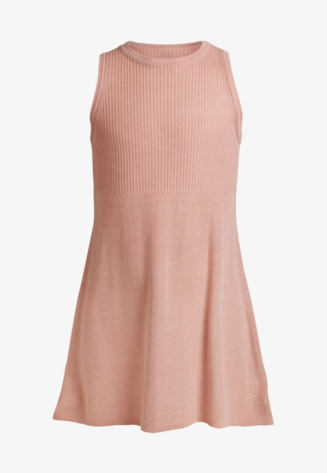 Jumper dress - dusty pink