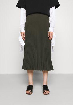 SKIRT - A-line skirt - khaki