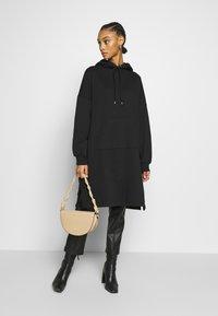 Monki - MALIN DRESS - Denní šaty - black - 1