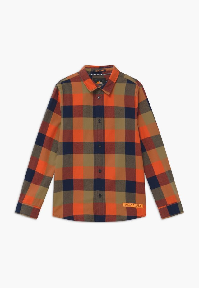 YARN DYED CHECK  - Hemd - red