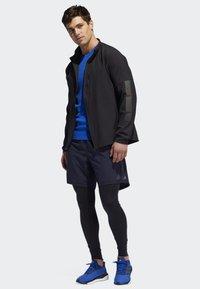 adidas Performance - RISE UP N RUN JACKET - Chaqueta de entrenamiento - black - 1