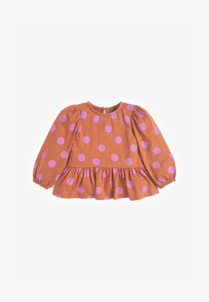 PEPLUM  - Blouse - brown