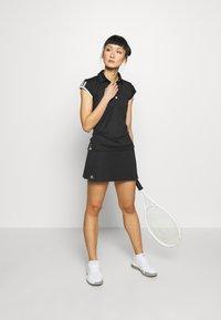 adidas Performance - CLUB SKIRT - Sports skirt - black/silver/white - 1