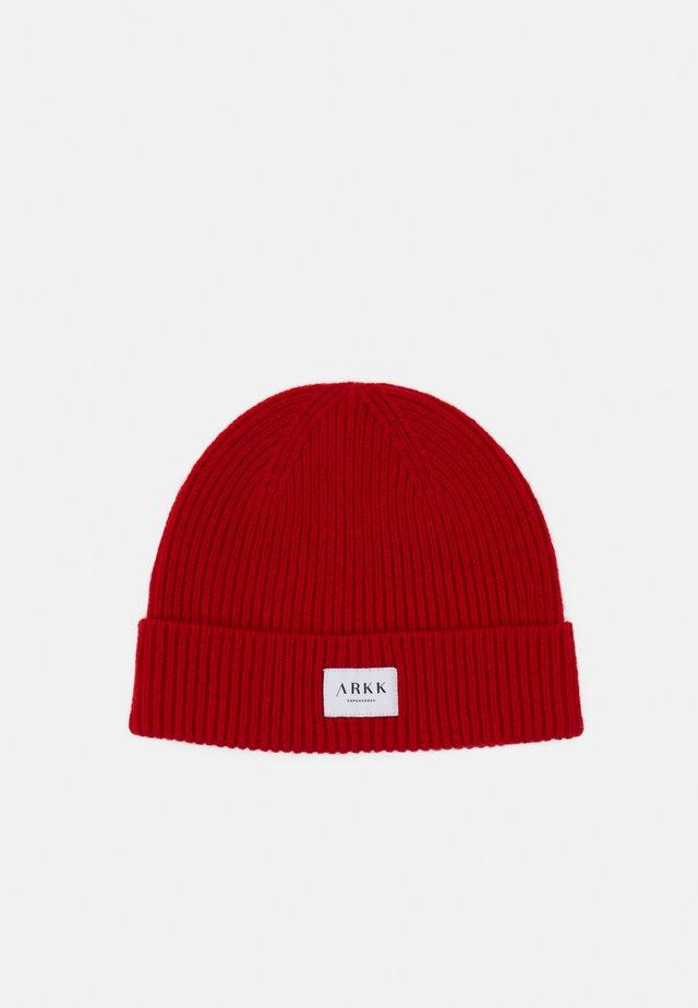 BEANIE UNISEX - Bonnet - fiery red