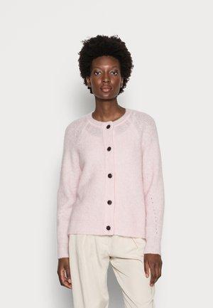 SLFLULU SHORT CARDIGAN  - Kardigan - chalk pink