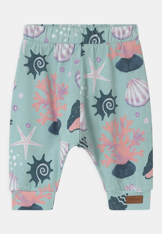 BAGGY SHELLS PEARLS UNISEX - Trousers - blue