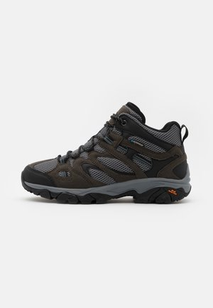 RAVUS VENT LITE MID WATERPROOF - Hiking shoes - charcoal/cool grey/dark slate