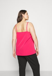 CAPSULE by Simply Be - STRAPPY CAMI - Top - fuschia - 2