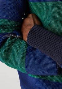 Lacoste - Polo shirt - navy blau / blau / grün / beige / weiß - 4
