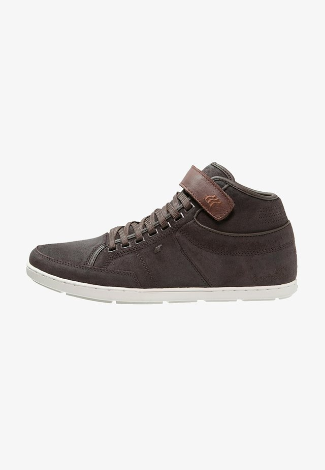 SWICH BLOK - Sneakers hoog - dark brown
