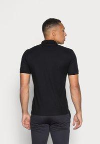 Calvin Klein - REFINED CHEST LOGO - Polo shirt - perfect black - 2
