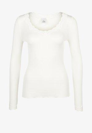 Camiseta interior - cream white