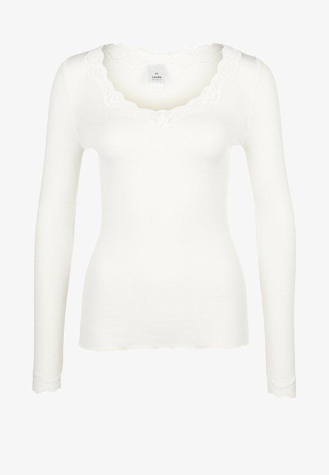 Aluspaita - cream white
