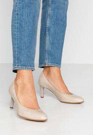 Classic heels - nude