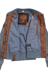 Naketano - Summer jacket - blue-grey - 3