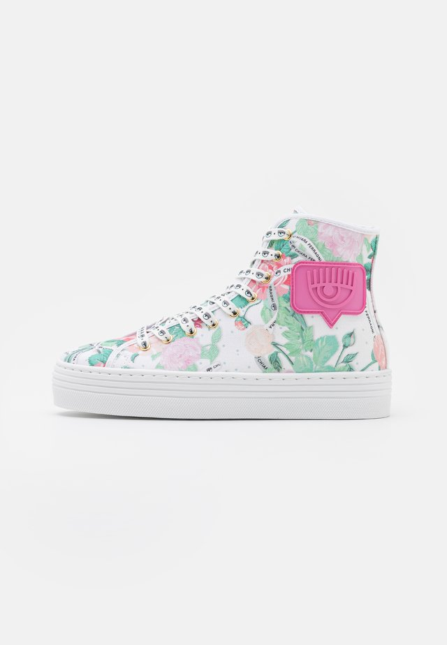 EYE LIKE - Sneakers hoog - pink