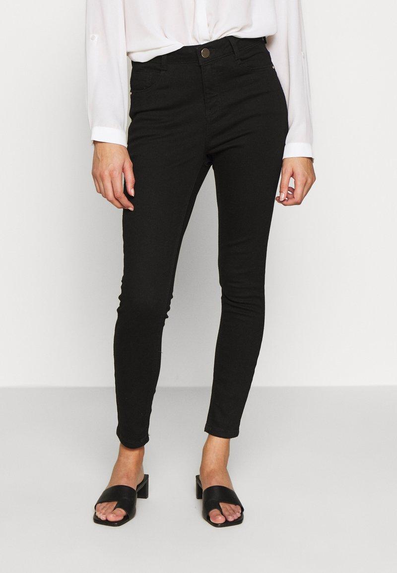 Dorothy Perkins Petite - SHAPING JEAN - Jeans Skinny Fit - black