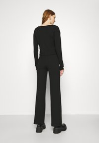Nly by Nelly - BUTTON CARDIGAN SET - Cardigan - black - 5