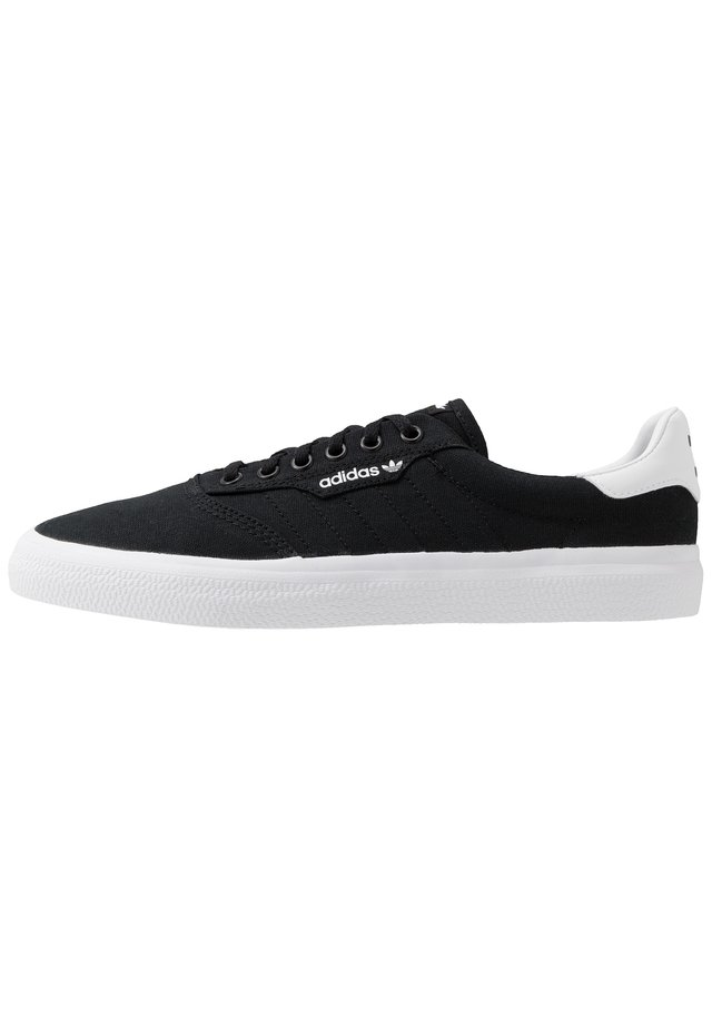 3MC - Matalavartiset tennarit - core black/footwear white