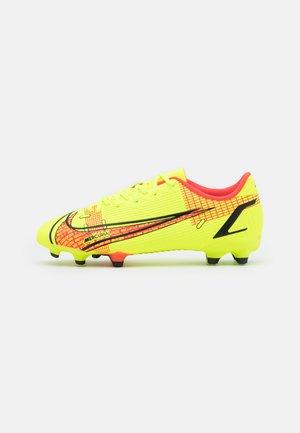 JR MERCURIAL VAPOR 14 ACADEMY FG/MG UNISEX - Moulded stud football boots - volt/bright crimson