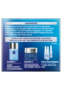 Nivea - HYDRA SKIN EFFECT REGENERATIVE GEL CREME NIGHT - Night care - - - 3
