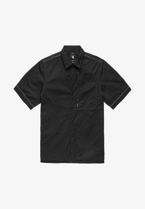 BOUND POCKET REGULAR - Overhemd - dk black crinkle