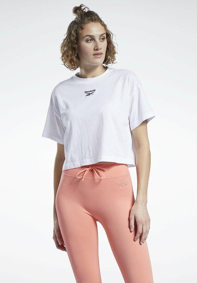 SMALL LOGO - T-shirt imprimé - white