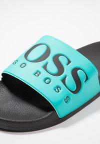 BOSS - SOLAR SLID LOGO - Mules - turquoise/aqua - 5