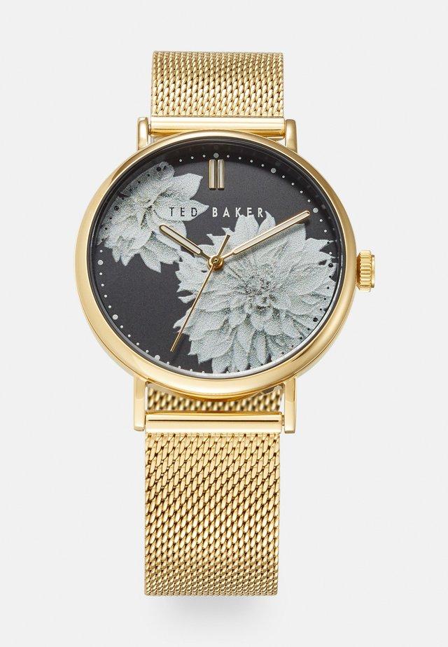PHYLIPA PEONIA - Horloge - gold-coloured