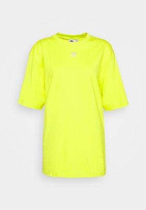 TEE - Basic T-shirt - acid yellow