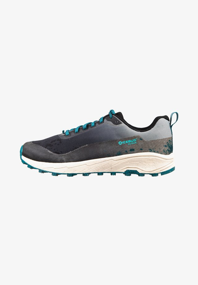 OUTRUN M RB9X - Sneakers laag - slategrey/teal