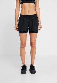 Nike Performance - 10K 2IN1 SHORT - Sports shorts - black/wolf grey - 0