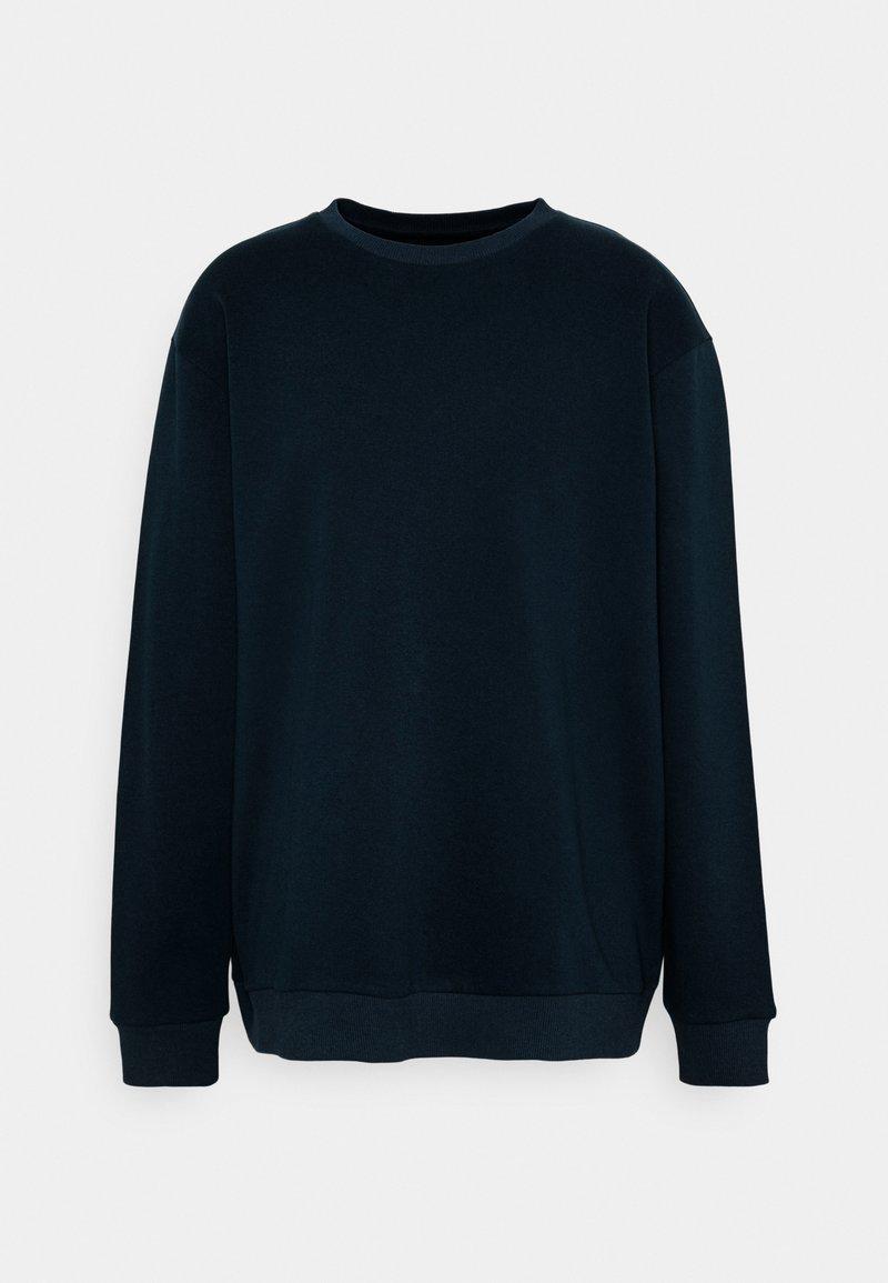 Only & Sons - ONSCERES LIFE CREW NECK PLUS - Sweatshirt - dark blue