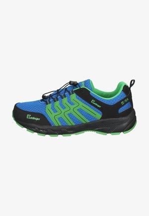 Sneakers laag - royalblue/green