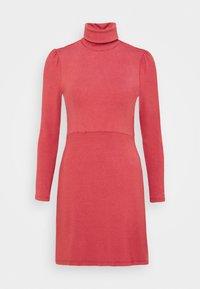 Glamorous Petite - LADIES DRESS - Jersey dress - burnt orange - 4