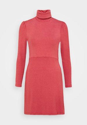 LADIES DRESS - Jersey dress - burnt orange
