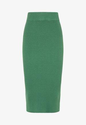 Pencil skirt - dunkelgrün