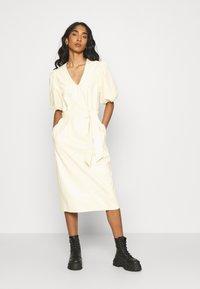 EDITED - FAITH DRESS - Day dress - beige - 0