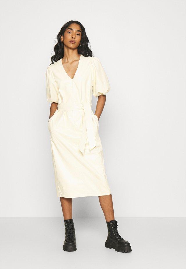 FAITH DRESS - Maxi-jurk - beige