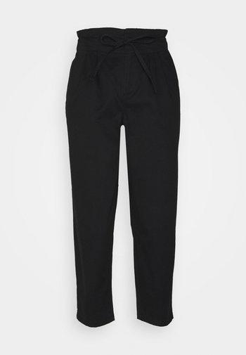 VMEVANY LOOSE STRING PANT - Bukse - black
