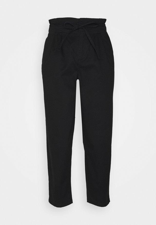 VMEVANY LOOSE STRING PANT - Pantaloni - black