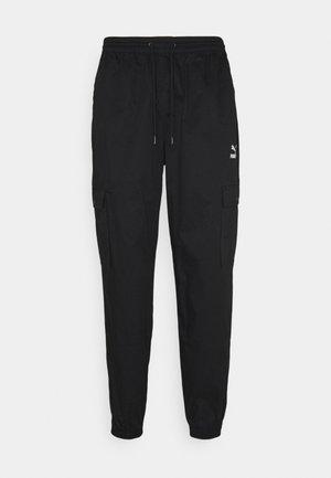 CLASSICS - Pantalon cargo - black